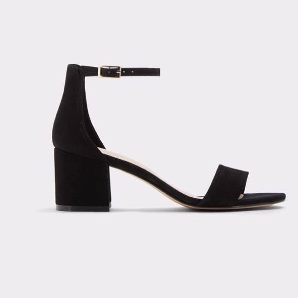Aldo Shoes - Aldo Black Low Mid Heel